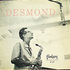 PAUL DESMOND Desmond album cover