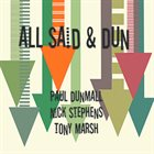 PAUL DUNMALL All Said & Dun album cover