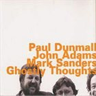 PAUL DUNMALL Ghostly Thoughts album cover
