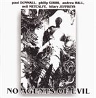 PAUL DUNMALL No Agents Of Evil album cover