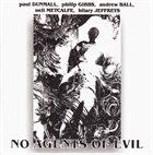 PAUL DUNMALL No Agents Of Evil album cover
