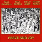 PAUL DUNMALL Peace and Joy album cover