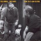 PAUL DUNMALL Thank You To John Coltrane album cover