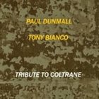 PAUL DUNMALL Tribute to Coltrane album cover