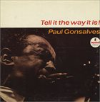 PAUL GONSALVES Tell It the Way It Is! album cover