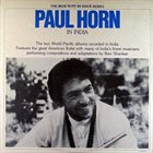 PAUL HORN In India album cover