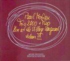 PAUL MOTIAN Paul Motian Trio 2000 + Two : Live At The Village Vanguard Volume III album cover
