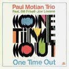 PAUL MOTIAN Paul Motian Trio: One Time Out album cover