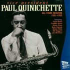 PAUL QUINCHETTE All Star Sessions 1951-1953 album cover