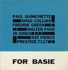 PAUL QUINCHETTE For Basie album cover