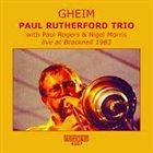 PAUL RUTHERFORD Gheim album cover