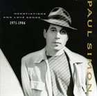 PAUL SIMON Negotiations And Love Songs (1971-1986) album cover