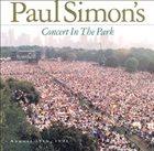 PAUL SIMON Paul Simon's Concert In The Park album cover