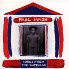 PAUL SIMON Songs From The Capeman album cover