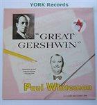 PAUL WHITEMAN Great Gershwin album cover