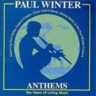 PAUL WINTER Anthems album cover