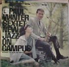 PAUL WINTER New Jazz On Campus album cover