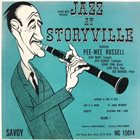 PEE WEE RUSSELL Jazz At Storyville album cover