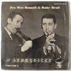 PEE WEE RUSSELL Jazz At Storyville Vol. 1 album cover