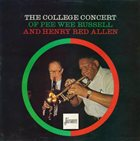 PEE WEE RUSSELL The College Concert Of Pee Wee Russell And Henry Red Allen album cover