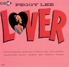 PEGGY LEE (VOCALS) Lover album cover