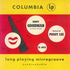 PEGGY LEE (VOCALS) Sings With Benny Goodman album cover
