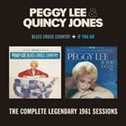 PEGGY LEE (VOCALS) Peggy Lee & Quincy Jones : Blues Cross Country. If You Go album cover
