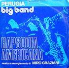 PERUGIA BIG BAND Rapsodia Americana album cover