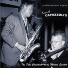 PETE CHRISTLIEB Las Vegas Late Night Sessions - Live at Capozzoli's album cover