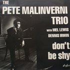 PETE MALINVERNI Don't Be Shy album cover