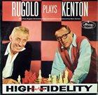 PETE RUGOLO Rugolo Plays Kenton album cover