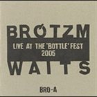 PETER BRÖTZMANN Live at the 'Bottle' Fest 2005 album cover