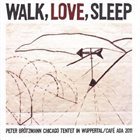 PETER BRÖTZMANN Walk, Love, Sleep album cover
