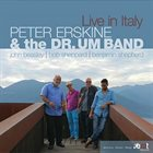 PETER ERSKINE Live In Italy album cover
