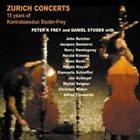 KONTRABASSDUO STUDER-FREY Zurich Concerts (15 Years Of Kontrabassduo Studer-Frey) album cover