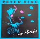 PETER KING In Paris album cover