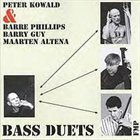 PETER KOWALD Bass Duets album cover