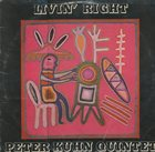 PETER KUHN Peter Kuhn Quintet : Livin´ Right album cover