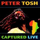 PETER TOSH Captured Live album cover