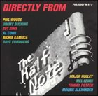PHIL WOODS Directly from the Half Note album cover