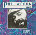 PHIL WOODS Live album cover