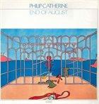 PHILIP CATHERINE End Of August album cover
