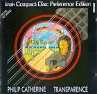 PHILIP CATHERINE Transparence album cover