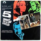 PIERO UMILIANI 5 Bambole Per La Luna D'Agosto Original Motion Picture Soundtrack album cover