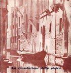 PIERO UMILIANI La Consolazione Della Pietra album cover