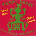 PIERRE DØRGE Pierre Dørge & New Jungle Orchestra ‎: Different Places - Different Bananas album cover
