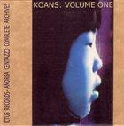 PIERRE FAVRE Pierre Favre, Andrea Centazzo – Koans: Volume One album cover