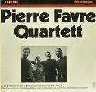 PIERRE FAVRE Pierre Favre Quartett album cover