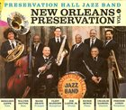 PRESERVATION HALL JAZZ BAND New Orleans Preservation Vol. 1 album cover