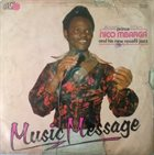 PRINCE NICO MBARGA Music Message album cover